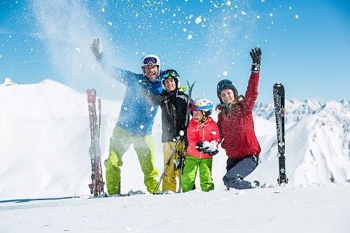 skivakantie met familie en kinderen